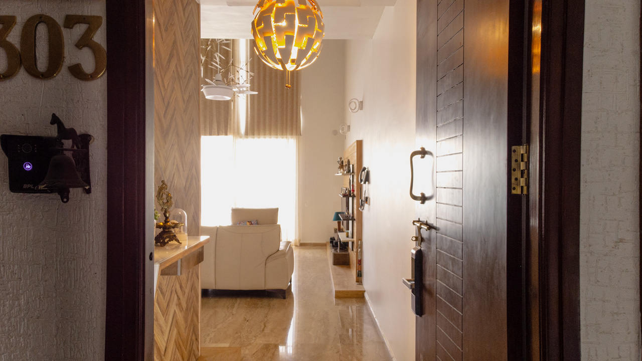 Entrance Shriram Chirping Woods Interior Design Duke Richards Interiors Bangalore