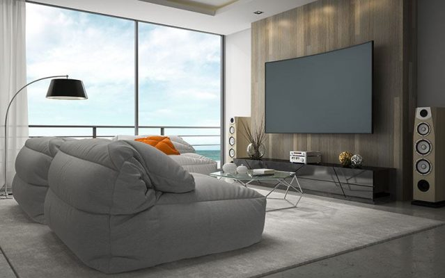 interior design modern tv room 3d rendering duke richards bangalore
